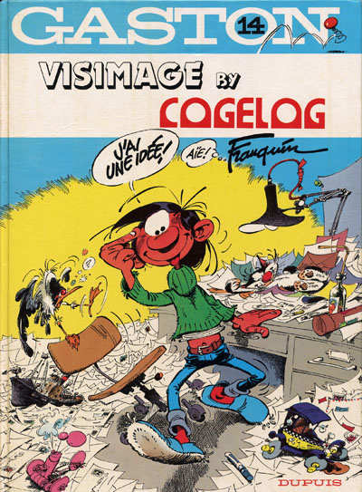 Couverture de Gaston (Hors-série) -14Pub- La saga des gaffes - visimage by cogelog