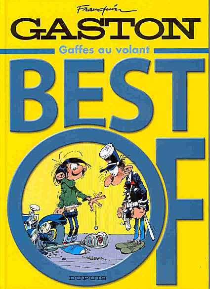 Couverture de Gaston (Hors-série) -BestOf- Gaffes au volant - Best Of