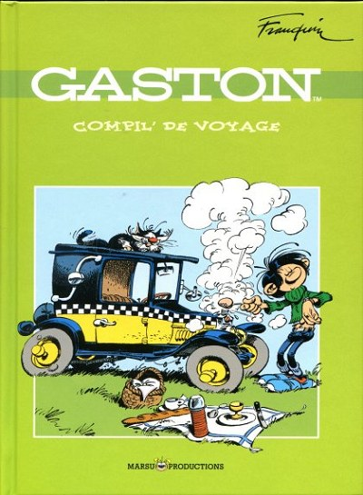 Couverture de Gaston (Hors-série) -Total2- Compil' de voyage