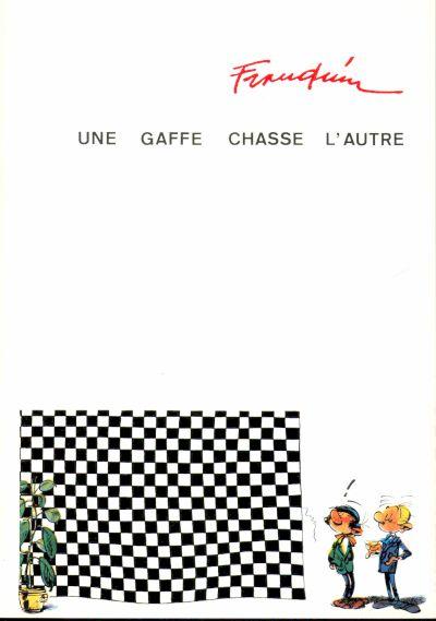 Couverture de Gaston (Hors-série) -Pira- Une gaffe chasse l'autre