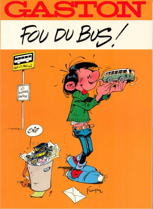 Gaston - Hors-série : Fou du bus