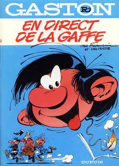 Couverture de Gaston -R4- En direct de la gaffe