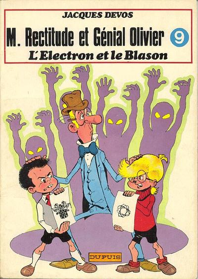 Couverture de Génial Olivier -9- L'électron et le blason