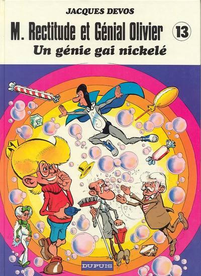 Couverture de Génial Olivier -13- Un génie gai nickelé