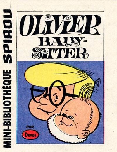 Couverture de Génial Olivier -MR1494- Olivier baby-sitter