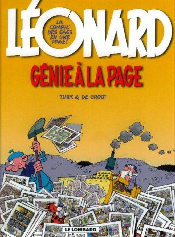 Couverture de Léonard -Compil2- Génie à la page