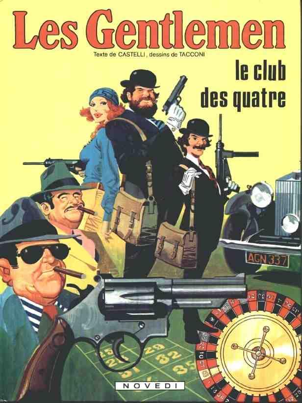 Les gentlemen - 5 tomes