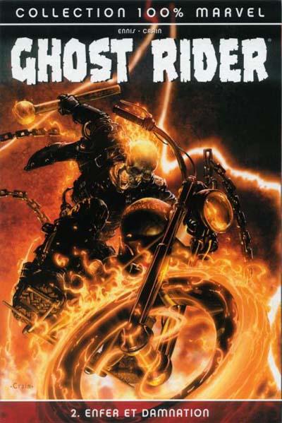 Couverture de Ghost Rider (100% Marvel) -2- Enfer et damnation