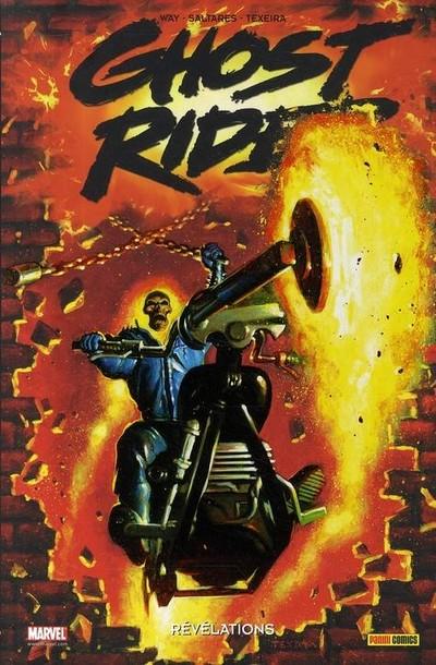 Couverture de Ghost Rider (100% Marvel) -6- Révélations