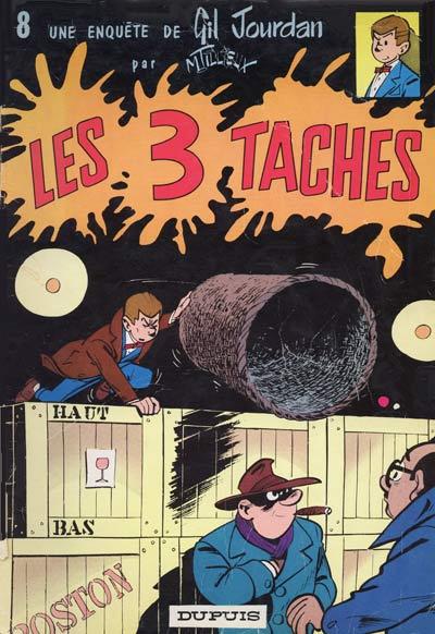 Couverture de Gil Jourdan -8- Les 3 taches