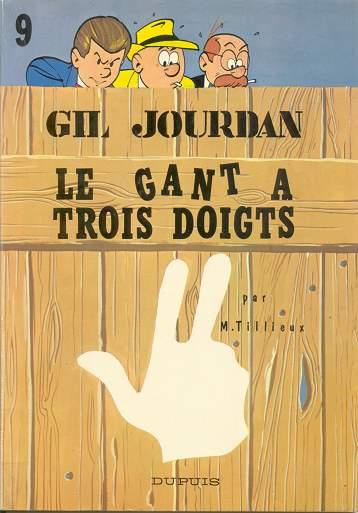 Couverture de Gil Jourdan -9- Le gant à trois doigts