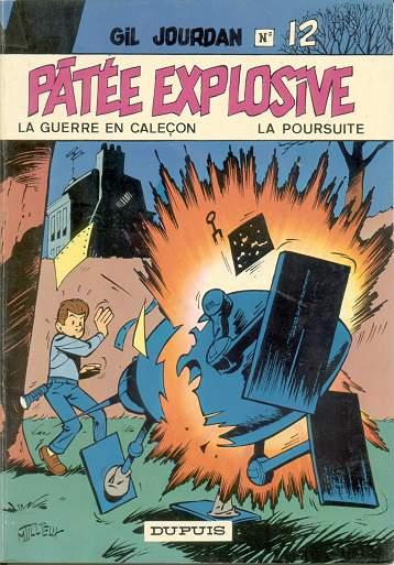 Couverture de Gil Jourdan -12- Pâtée explosive