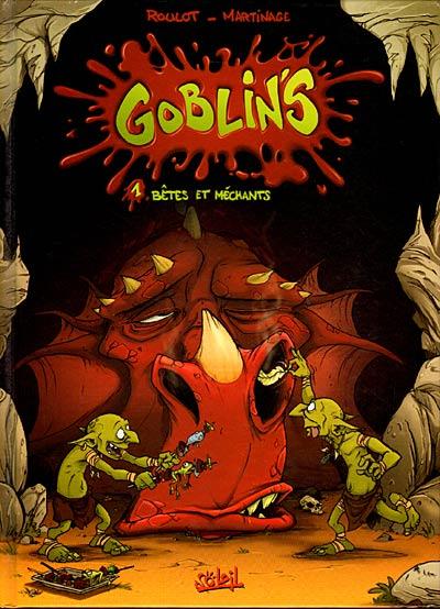 Couverture de Goblin's -1- Bêtes et méchants