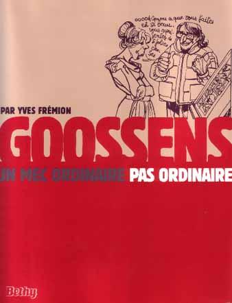 Couverture de (AUT) Goossens - Goossens un mec ordinaire pas ordinaire