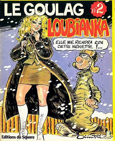 Couverture de Le goulag -2- Loubianka