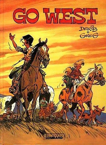 Couverture de Go West (Greg/Derib) - Go West