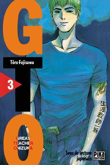 Couverture de GTO -3- Volume 3