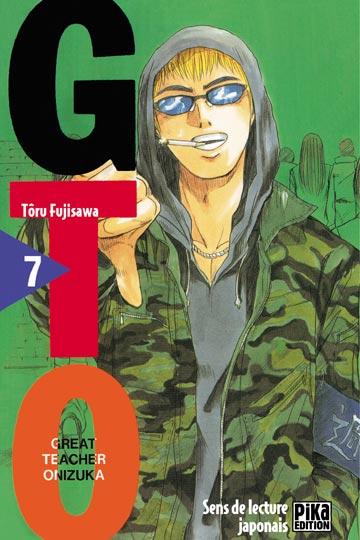 Couverture de GTO -7- Volume 7