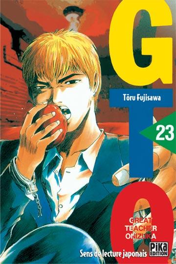 Couverture de GTO -23- Volume 23