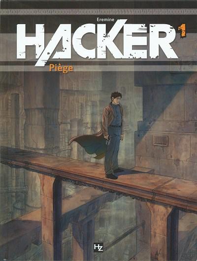 Couverture de Hacker -1- Piège