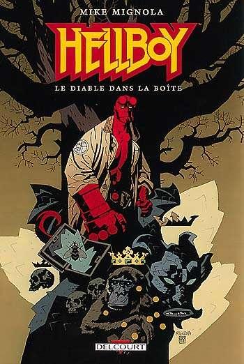 Couverture de Hellboy (Delcourt) -5- Le Diable dans la boîte