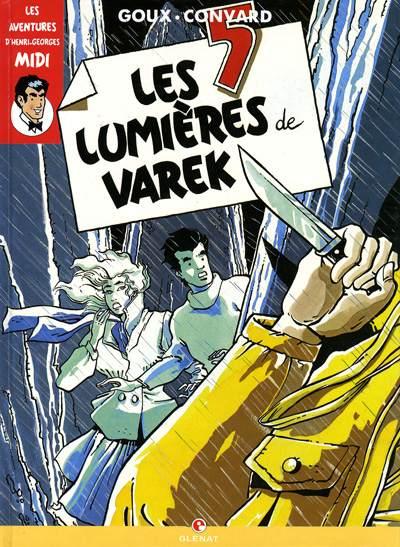 Couverture de Henri Georges Midi (Les aventures d') -3- Les 5 lumières de Varek