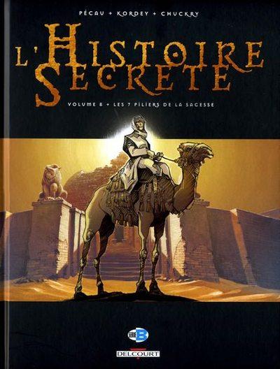 Couverture de L'histoire secrète -8- Les 7 piliers de la sagesse