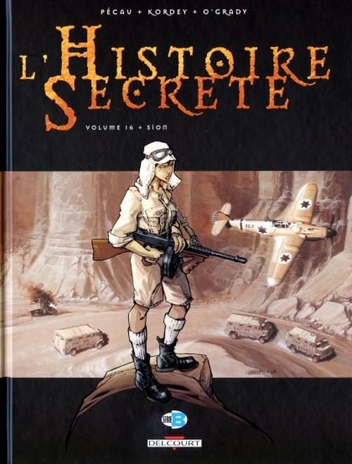 Couverture de L'histoire secrète -16- Sion