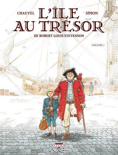 Couverture de L'Île au trésor (Simon) -1- Volume 1
