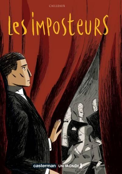 Couverture de Les imposteurs -1- Acte 1
