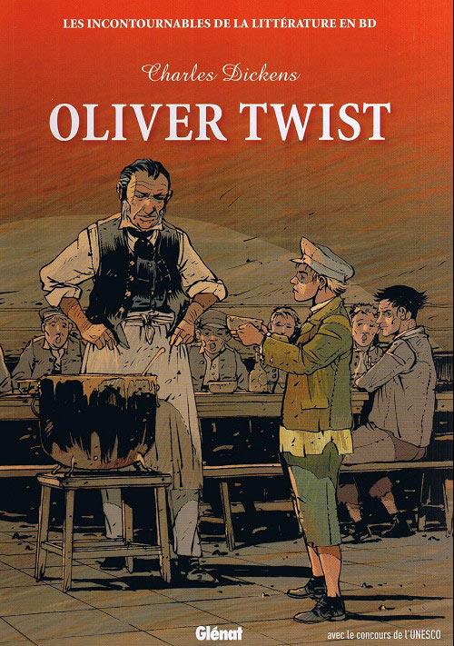Couverture de Les incontournables de la littérature en BD -15- Oliver Twist