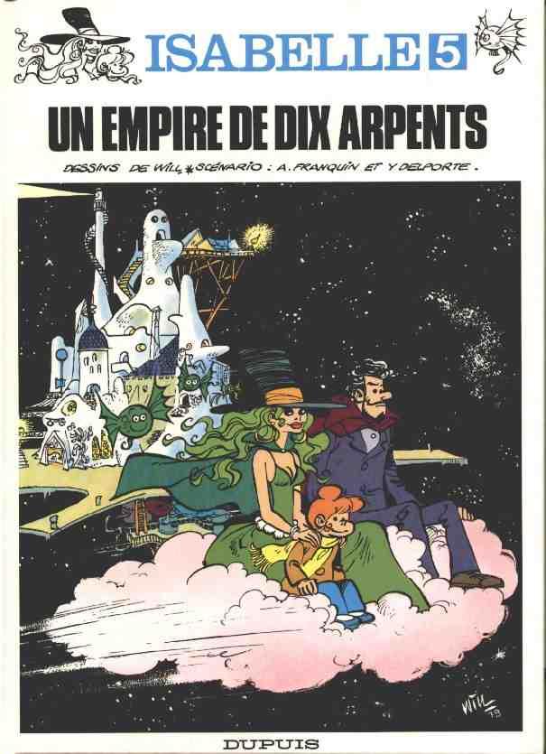 Couverture de Isabelle (Will) -5- Un empire de dix arpents
