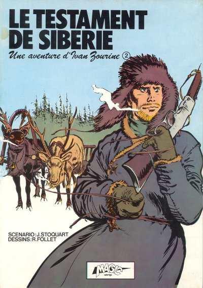 Couverture de Ivan Zourine -1- Le testament de Sibérie