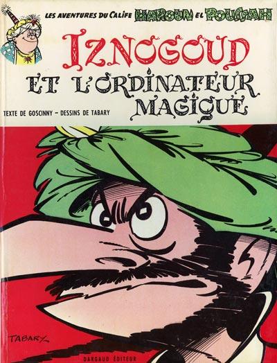 Couverture de Iznogoud -6- Iznogoud et l'ordinateur magique