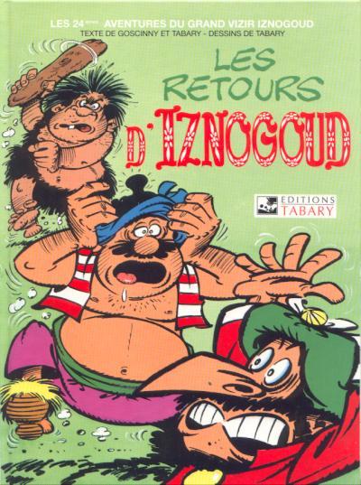 Couverture de Iznogoud -24- Les retours d'Iznogoud