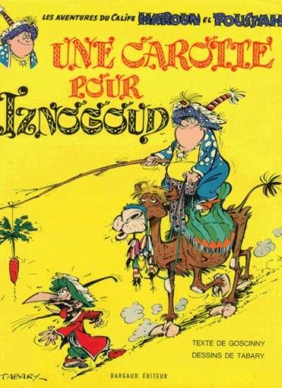Couverture de Iznogoud -7- Une carotte pour Iznogoud