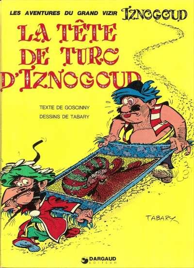Couverture de Iznogoud -11- La tête de Turc d'Iznogoud