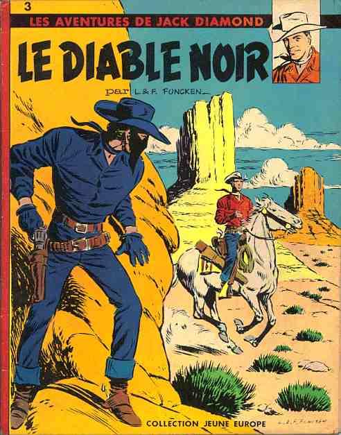 Couverture de Jack Diamond (Les aventures de) -1- Le diable noir