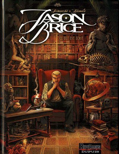 Couverture de Jason Brice -1- Ce qui est écrit
