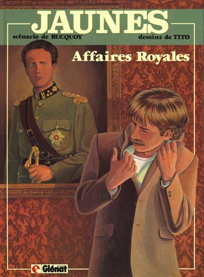 Couverture de Jaunes -5- Affaires royales