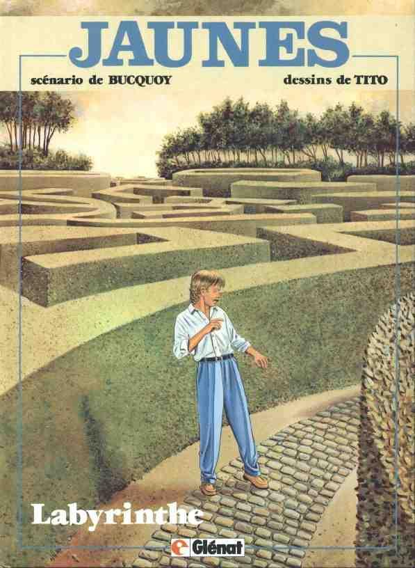 Couverture de Jaunes -7- Labyrinthe