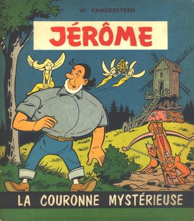 Couverture de Jérôme -2- La couronne mystérieuse