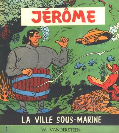 Couverture de Jérôme -8- La ville sous-marine
