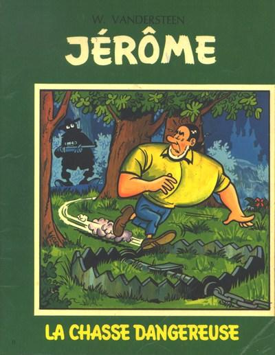 Couverture de Jérôme -11- La chasse dangereuse