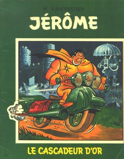Couverture de Jérôme -12- Le cascadeur d'or