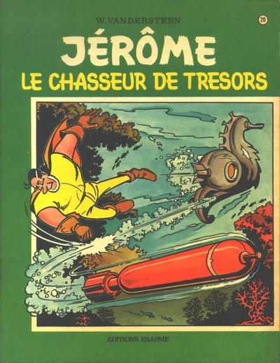 Couverture de Jérôme -20- Le chasseur de trésors