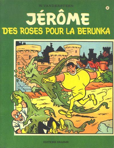 Couverture de Jérôme -31- Des roses pour la Berunka