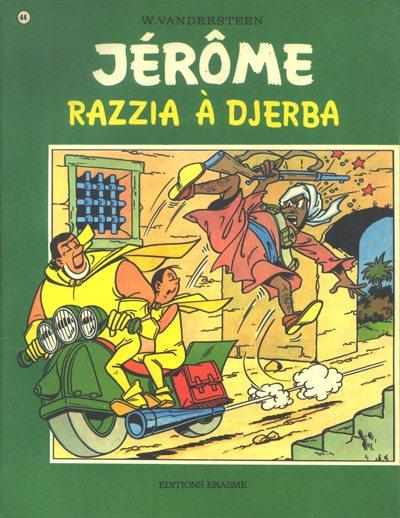 Couverture de Jérôme -44- Razzia à Djerba