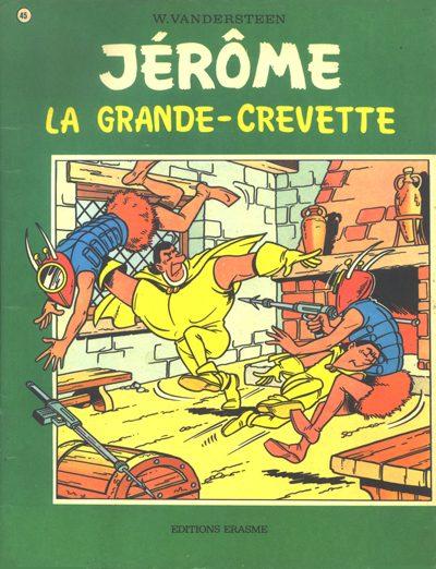 Couverture de Jérôme -45- La grande-crevette