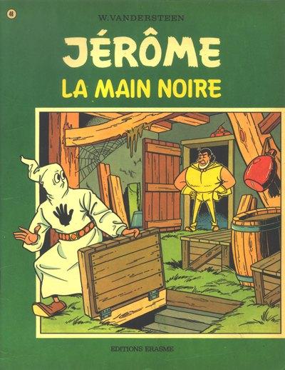 Couverture de Jérôme -48- La main noire